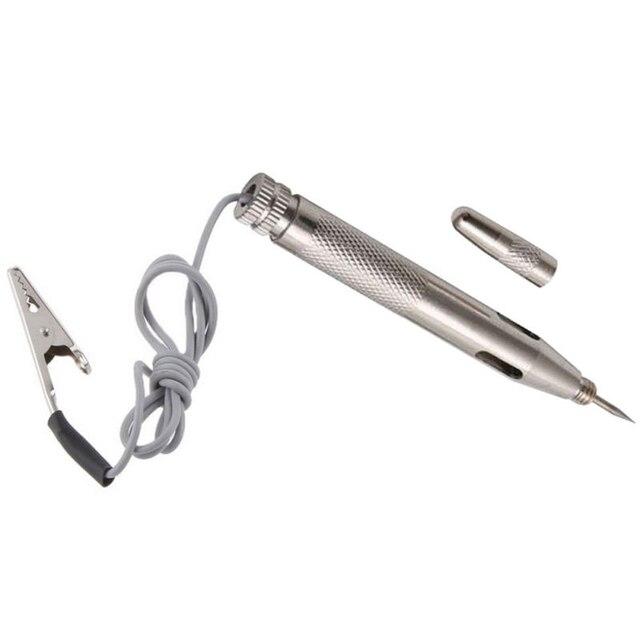 New Arrival DC 6-24V Auto Car Light Circuit Tester Lamp Voltage Test Pen Detector Probe Diagnostic Tools
