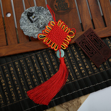 10 Pcs Polyester Chinese Knots Knotting Tassel Imitated Bowlder Style Gifts Fringe Trim Pendant Decoration 2018