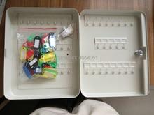 metal key box tool case Storage Bins management cabinet with 45key card Office Hotel facility Property storage item