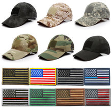 Stylish Outdoor Sport Baseball Hip-Hop Hat  Camo Cap Snapback Flag Patch цены онлайн