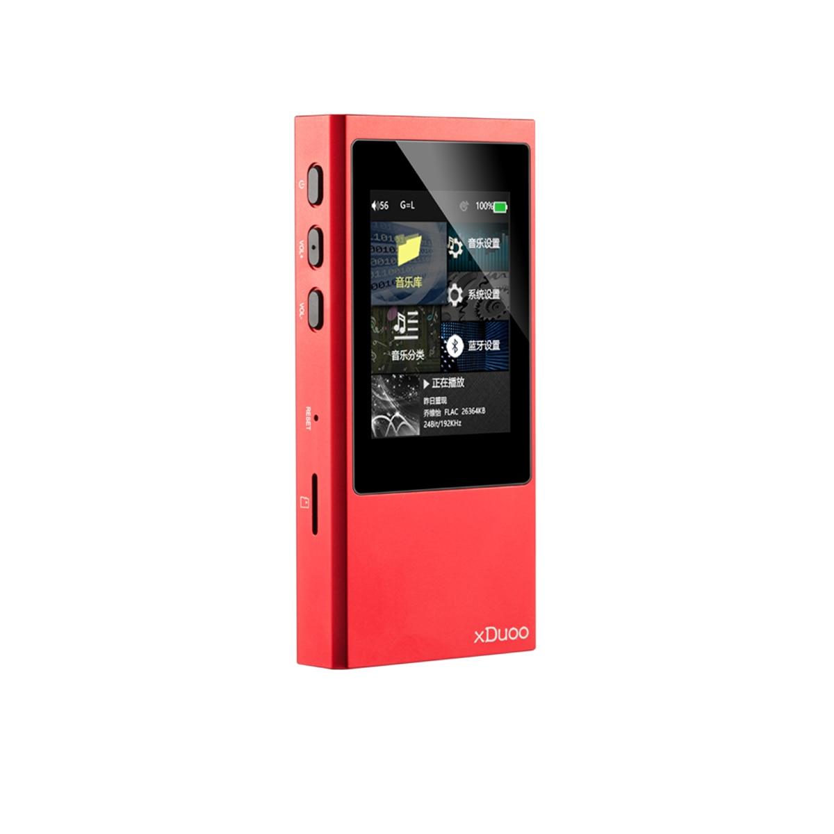 XDuoo X20 haute fidélité sans perte musique DSD HIFI lecteur MP3 DAP Support Aptx bluetooth HiFi équilibré lecteur de musique OPA1612 DSD256