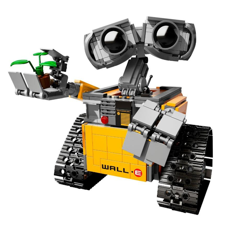687 Pcs Legoings Ideas WALL E Building Blocks Robot Model Building Kit Bricks Toys Children Compatible 21303687 Pcs Legoings Ideas WALL E Building Blocks Robot Model Building Kit Bricks Toys Children Compatible 21303