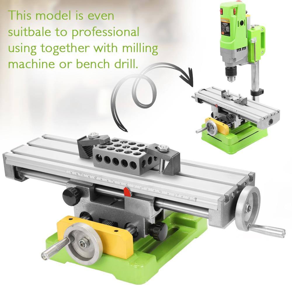 Сверлильный слайд стол механические инструменты сверлильный слайд стол 6350 мини соединение скамейка Рабочий стол фрезерный рабочий тиски м