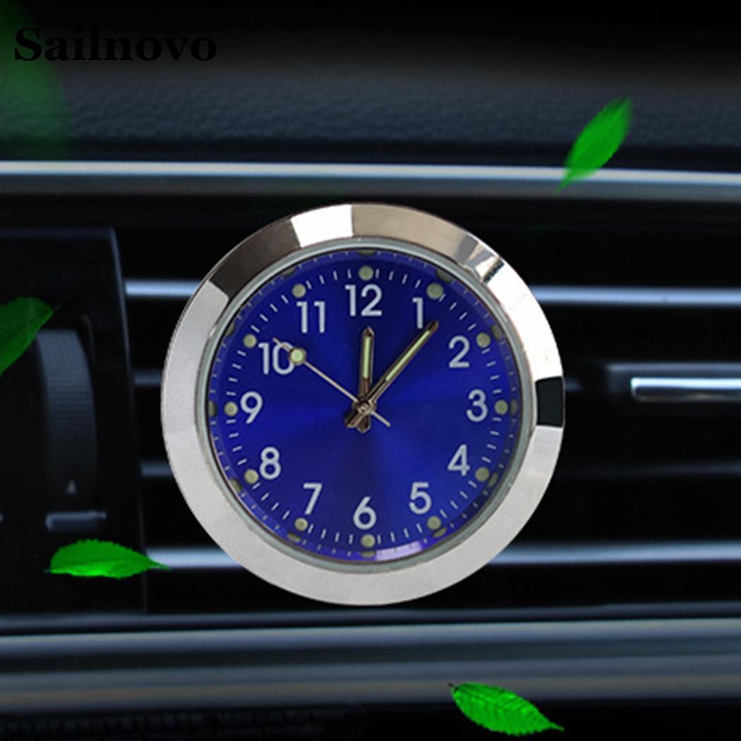 Mini Car Aromatherapy Clock Fashion Auto