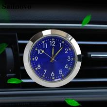 Mini Car Aromatherapy Clock Fashion Auto