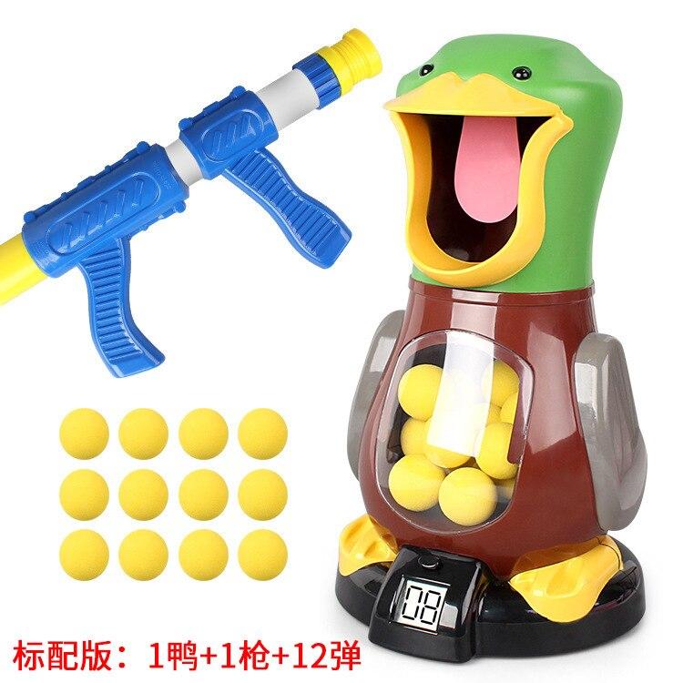 Modèles d'explosion jouer I canard jouets tir enfants jouet pistolet Air Power balle molle pistolet une génération de gros jouets créatifs - 5