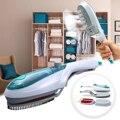 Kit de hierro de vapor eléctrico de mano de vaporizador portátil multifunción para el hogar, cepillo de limpieza de ropa de tela de viaje
