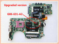 for DELL XPS M1330 laptop motherboard 0PU073 for intel cup G86 631 A2 CN 0PU073 0PU073 DDR2 100% Tested