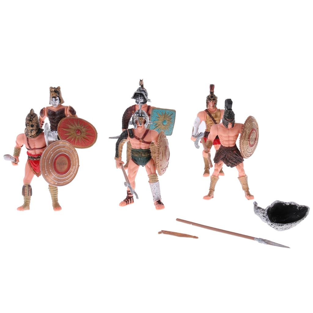 10 PCS Military Model Kits Pavilion Whistle Plastic Toy Soldiers Figures
