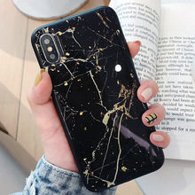 XINDIMAN Concise Glue Marble case for iphoneX XSMAX XR backcover hard plastic shell iphone7 7plus 8 8plus 6 6s 6plus fundas