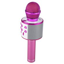 Беспроводной караоке микрофон Портативный Bluetooth мини домашний KTV для воспроизведения музыки и динамик для пения плеер селфи телефон PC Purp