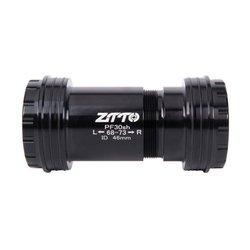 ZTTO PF30sh PF30 24 Adaptörü bisiklet Basın Fit Alt Parantez Aks MTB Yol bisikleti Parçaları Prowheel 24mm Aynakol zincir seti