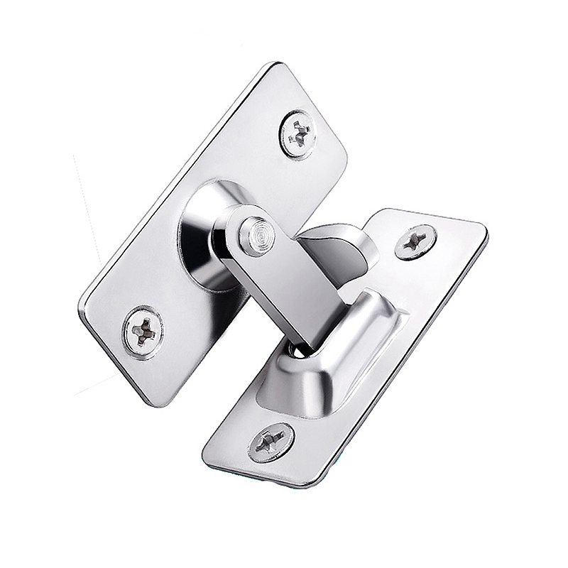 Right Angle Lock 90 Degree Room Door Buckle Buckle Suitable For Bathroom Barn Door Sliding Door Buckle Bending Right Angle Doo