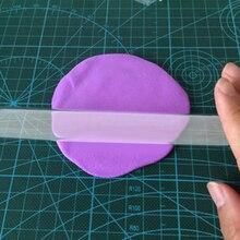 1 шт. Роллинг палка Сверхлегкий акриловый прозрачный Sculpey Полимерная глина роллер палка DIY Художественный инструмент