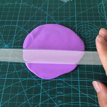 Ultralight Acrylic Clear Sculpey Polymer Clay Rolling Roller Stick DIY Art Tool