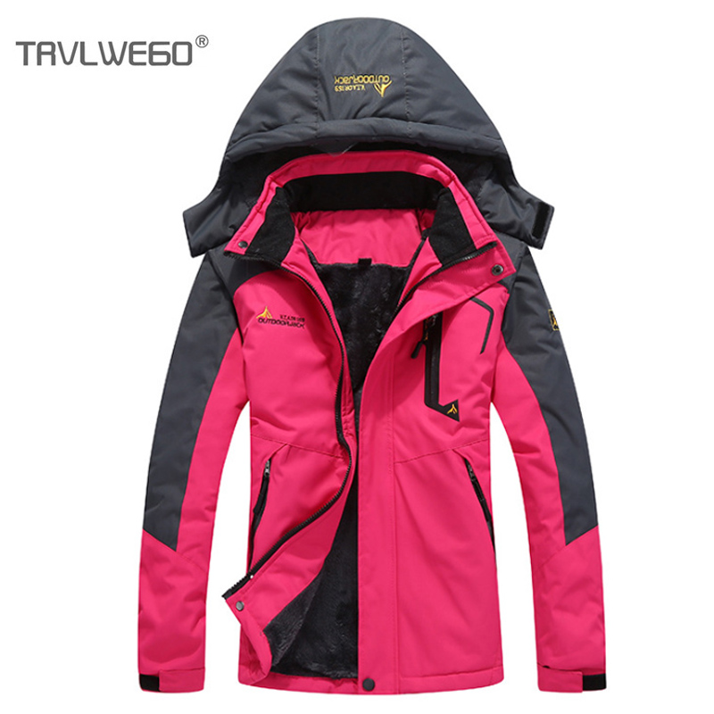 THE ARCTIC LIGHT 30 Degree Super Warm Winter Ski Jacket Women Waterproof Breathable Snowboard Snow Jacket
