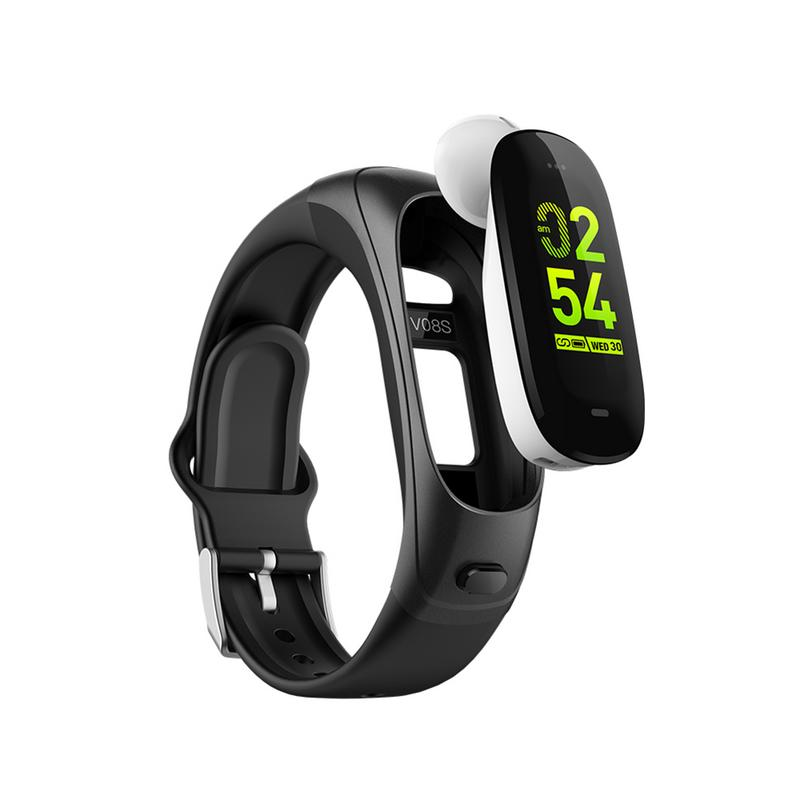 V08S Smart Bracelet Heart Rate Blood Pressure Monitoring Bluetooth Bracelet Bluetooth Headset 2