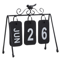 2019 винтажный флип-календарь деревянный стол, парта Адвент-календарь perpetuo календарь де меса офисные настольные украшения