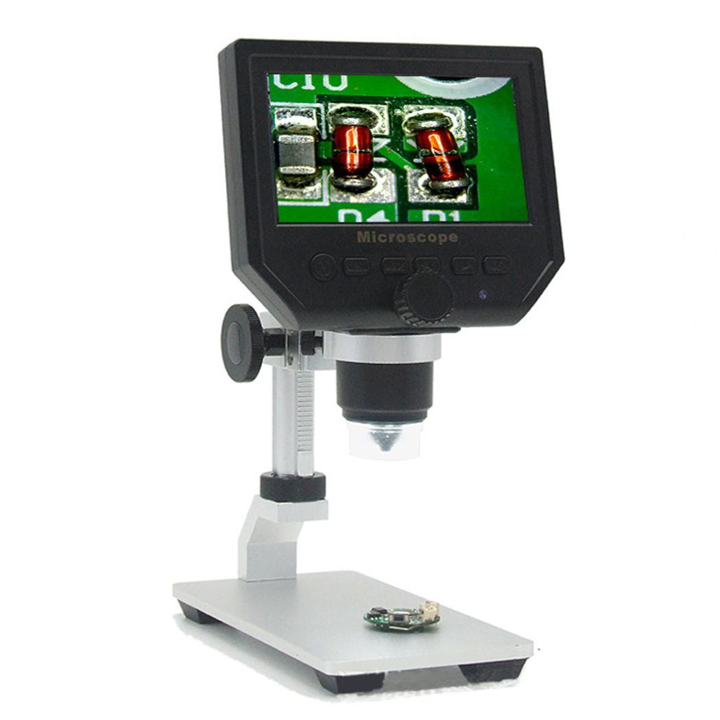 Portable Digital HD 600X Electronic Microscope off, 1 minutes, minutes 4.3 Inch Display Screen 1-600 TimesPortable Digital HD 600X Electronic Microscope off, 1 minutes, minutes 4.3 Inch Display Screen 1-600 Times