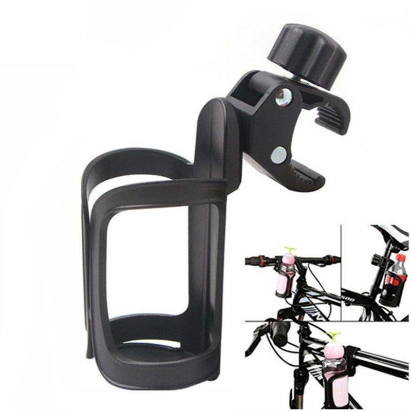 MTB Bicycle Mountain Bike Water Cup Holder Baby Stroller Bottle Holder Universal 360-degree Rotating Anti-slip Cup Drinks Holder