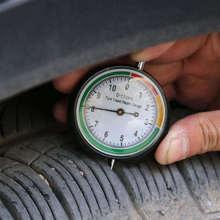 1PC Car Wheel Tyre Pressure Tread Depth Gauge Meter Tire Condition Monitor Tire Ruler Tread Depth Gauge