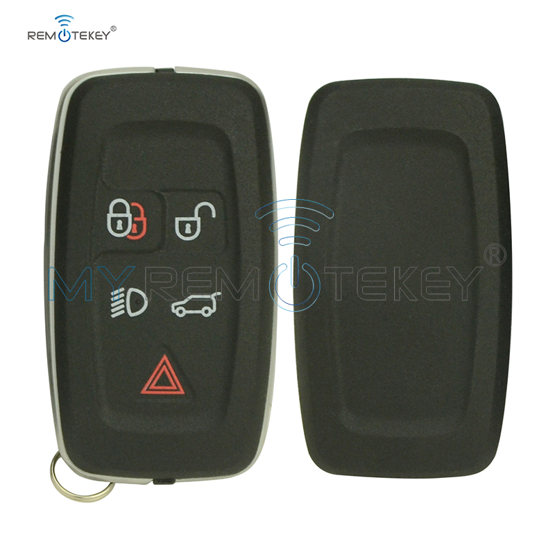Remtekey replacement case cover shell AH22 15K601 AD 5 button for Landrover Range Rover Sport LR4 2010 2011 2012