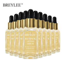 Breylee Retinol Lifting Firming Serum Face Facial Collagen Essence Remove Wrinkles Anti Aging Skin Care Fade Fine Lines 10pcs