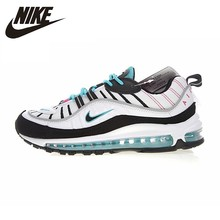 NIKE Air Max 98 Original New Arrival Men's Running Shoes Cushion Authentic Comfortable Sport Outdoor Sneakers #640744