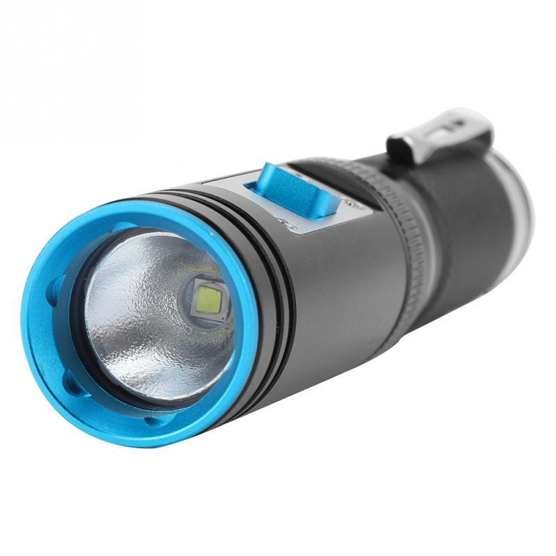 Diving Underwater Flashlight L2 Underwater Torch Bright ...