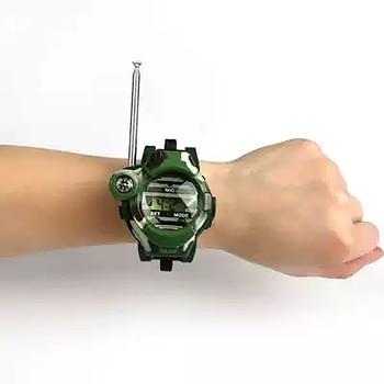 Camouflage Hot Way Radio Walkie Talkie Kids Child Spy Wrist Watch Gadget Toys Outdoor Interphone Toy Gift For Chirlden 4