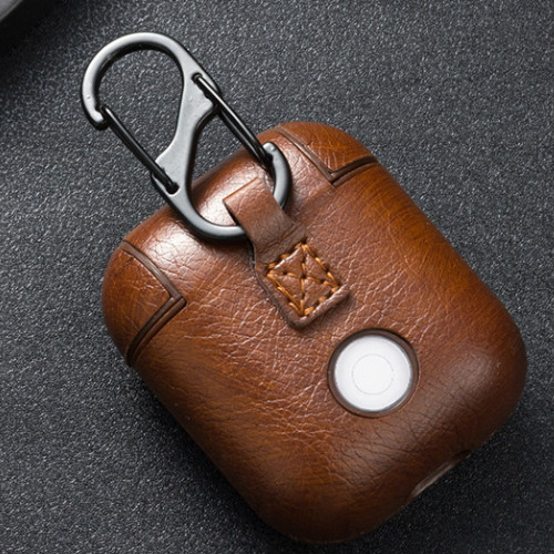 case for airpods protective cover Bluetooth wireless headset set Airpods leather case in Earphone Accessories from Consumer Electronics