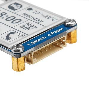 Image 4 - חדש 1.54 אינץ E דיו מסך תצוגת נייר אלקטרוני מודול תמיכה רענון חלקי לarduino עבור פטל Pi