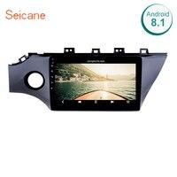Seicane Android 8,1 gps навигационная система, стереомагнитола для KIA K2 RIO 2017 2018 2Din сенсорный экран автомобильный мультимедийный плеер Поддержка ТВ тю