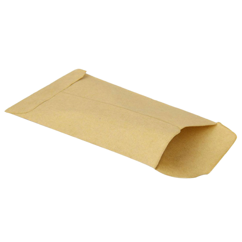 100PCS/Set Kraft Paper Bag Gift Bags Candy Bags For Biscuits Snack Baking Package Supplies Envelope Gift Wrap
