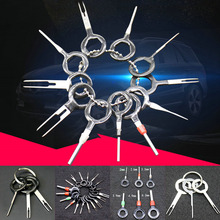 18Pcs/Set Terminal Removal Tools Car Electrical Wiring Crimp Connector Pin Extractor Kit Car Repair Hand Tool Set Plug Key стоимость