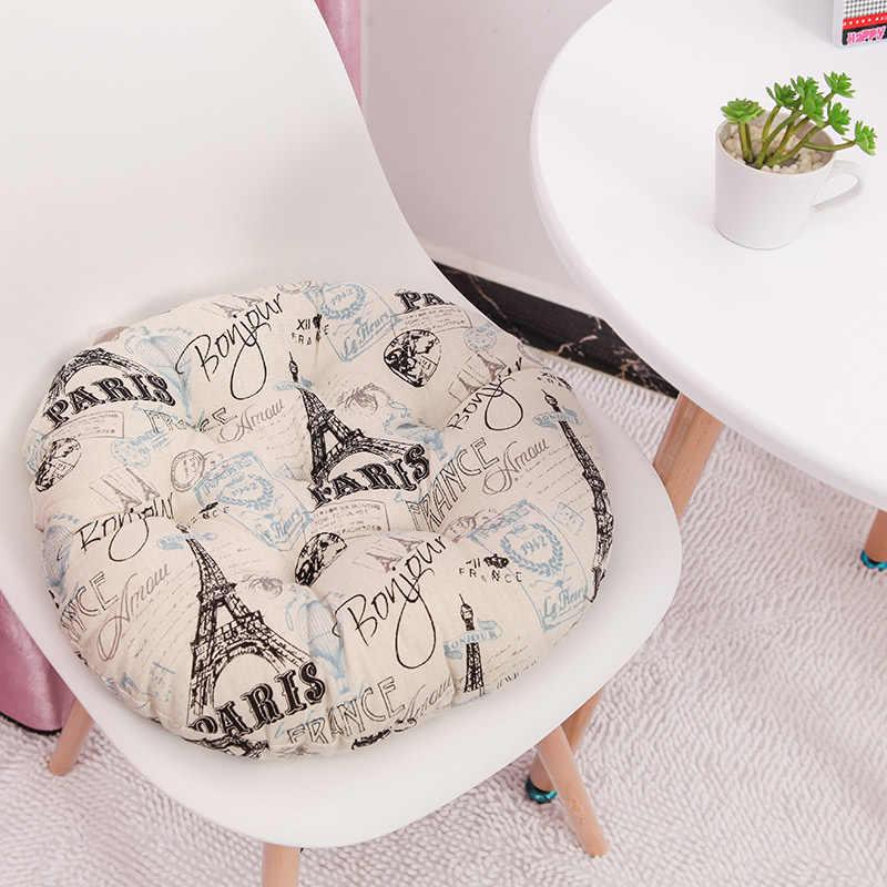 Okrągła poduszka 38x38/43x43/48x48cm krzesło biurowe poduszka na sofę tatami okrągłe dekoracje poduszka siedziska poduszki na krzesła hurtownia