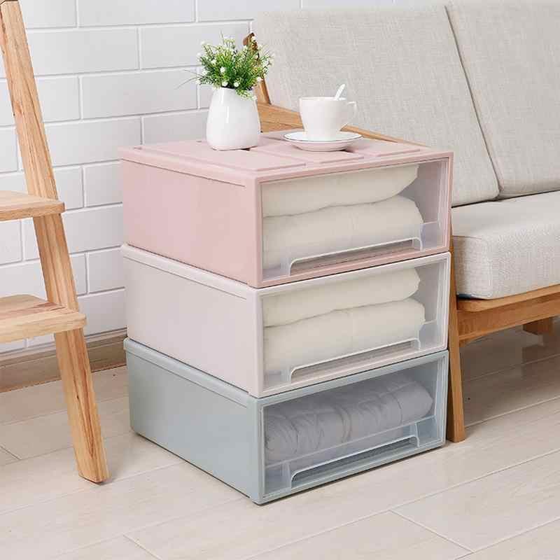 Home Storage Cabinet Drawer Plastic Storage Box Household