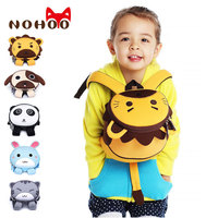 2019 New 3D Cartoon AnimalsBackpack High Quality for girls boys anti lost mini bag for children waterproof light shool backpack