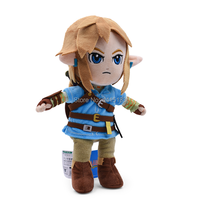 New Arrival Anime The Legend of Zelda Link Doll Plush Soft Stuffed Baby Toy Great Christmas Gift For Children 1