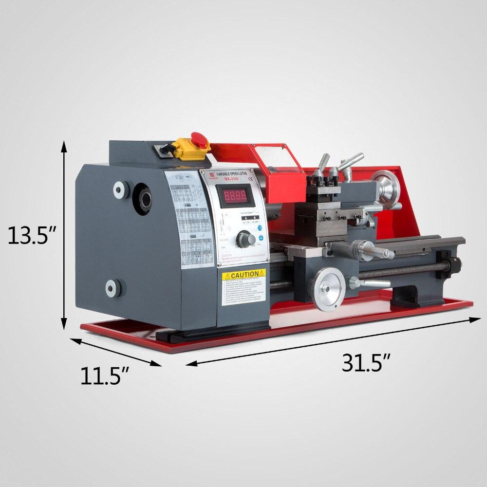 Free shipping 7x14 Top quality mini bench metal lathe mini drill combo cnc lathe machine