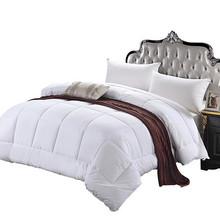 Kolekcja hotelowa seria 1500-luksusowa kołdra wkładka puchowa alternatywna Comforter24 tanie tanio NoEnName_Null Cztery pory roku Poliester bawełna 628751A
