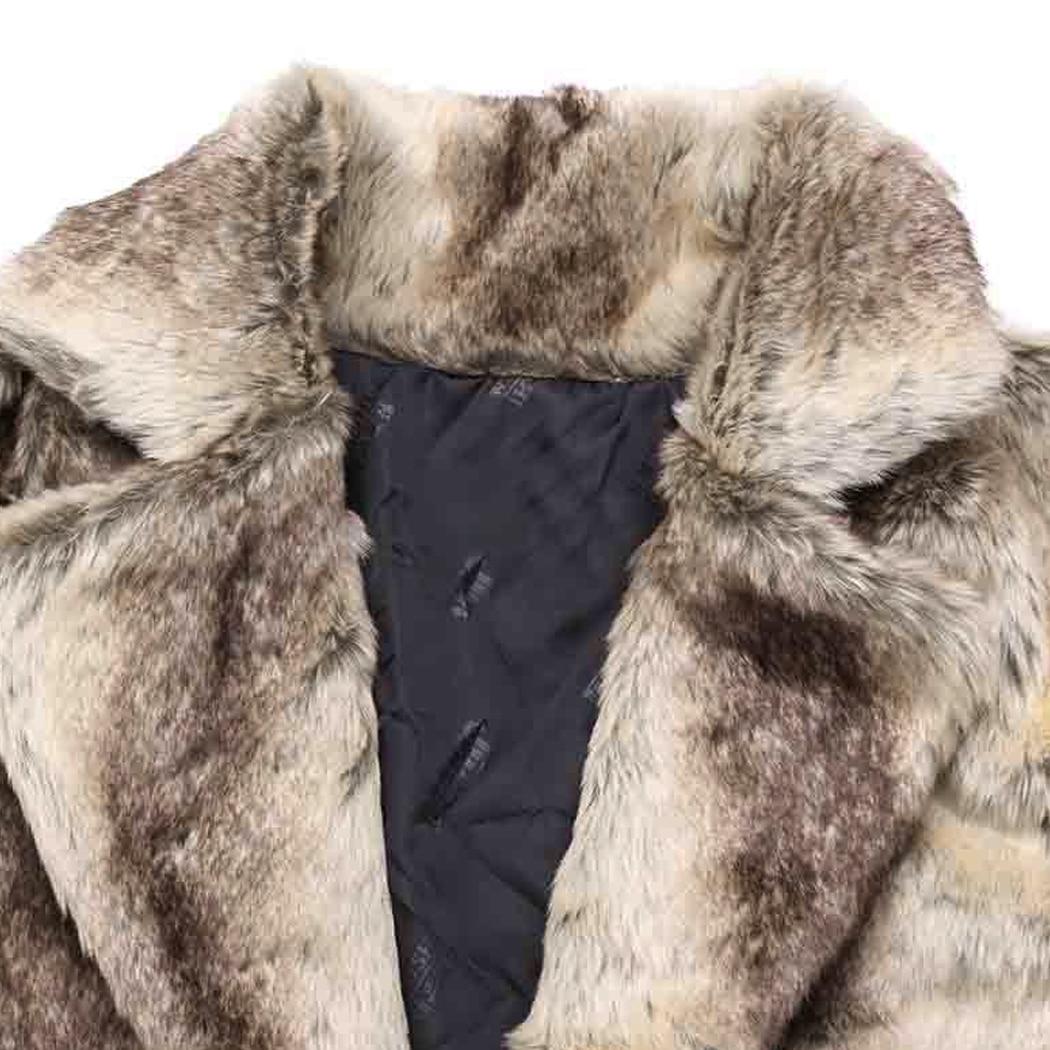 Manteau fur La 2018 Veste Fourrure Outwear Plus Faux Chaud De Hiver Color Surdimensionné Longue Manteaux Black Longs Mode Cardigan Hommes Épaissir Pardessus Taille OwXEapqp1x