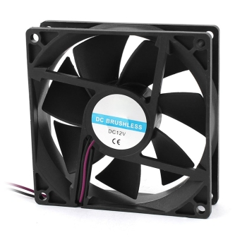 90mm x 25mm 9025 2pin 12V DC Brushless PC Case CPU Cooler Cooling Fan - discount item  29% OFF Household Appliances