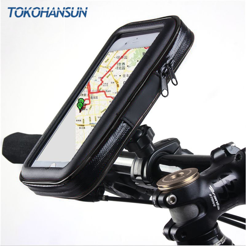 Universal Waterproof Motorcycle Bike Scooter Mobile Phone Holder Bag Case For IPhone 11 Pro 8 X For Samsung Support 3.5-6.5 Inch