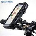 Универсальный Водонепроницаемый Мотоцикл велосипед Скутер мобильный телефон держатель сумка чехол для IPhone 11 pro 8 x для Samsung поддержка 3,5-6,5 Дю...