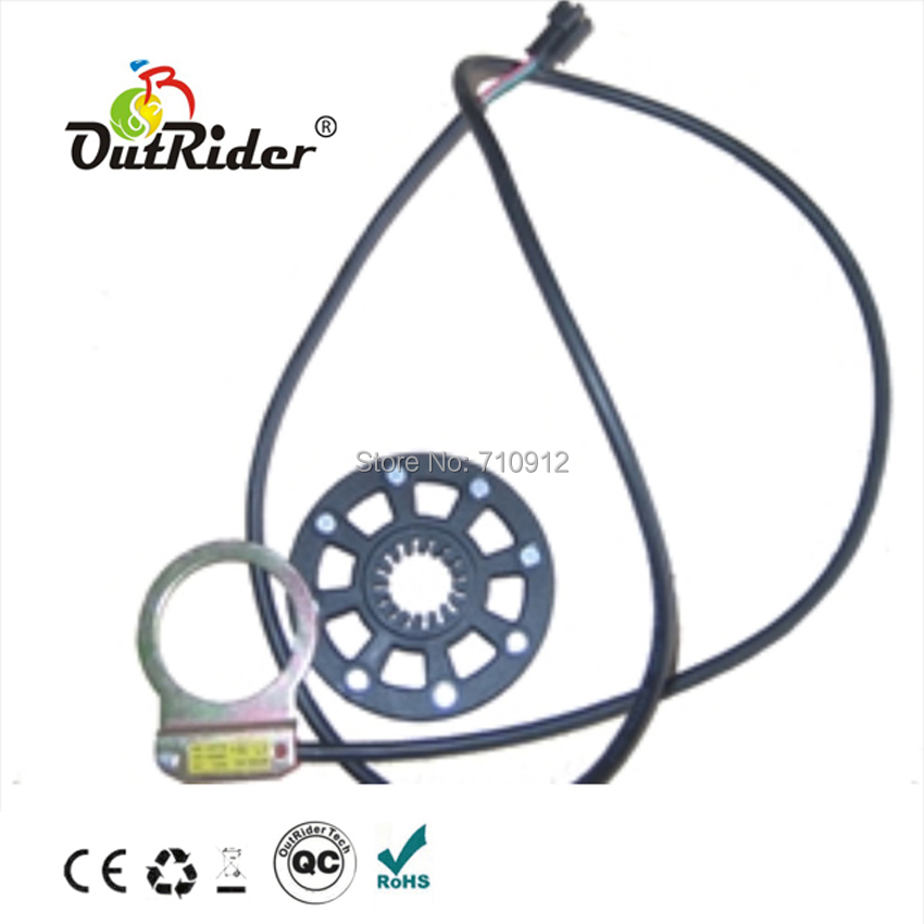 OR05A4 Electric Bike 8 Magnets PAS sensor E bike PAS Pedal Assistant Sensor / Electric Bike Conversion Kit