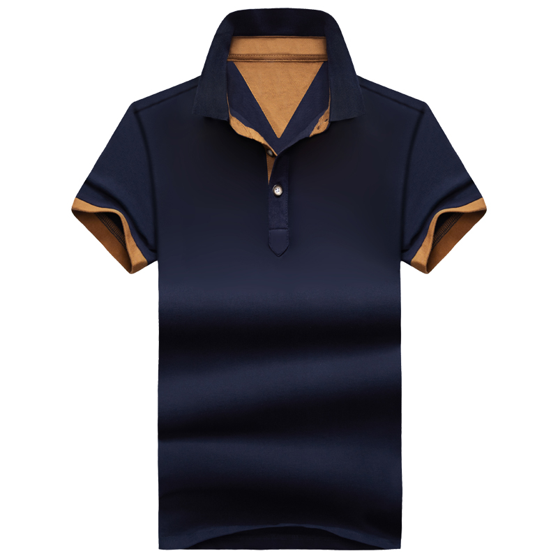 Summer Style Brand Clothing Mens   Polo   Shirt Casual Short Sleeve Solid   Polo   Men Shirts Homme XXXXL Plus Size M-4XL Men Tops Tees