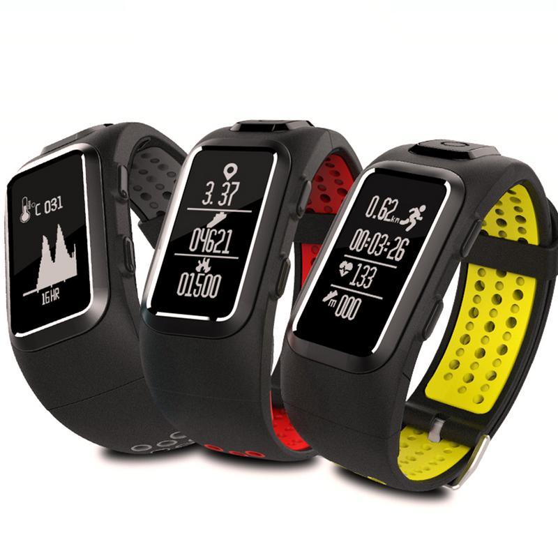 Db10 nouveau GPS positionnement surveillance de la fréquence cardiaque Bracelet intelligent étanche étape comptage SMS appels rappel - 6