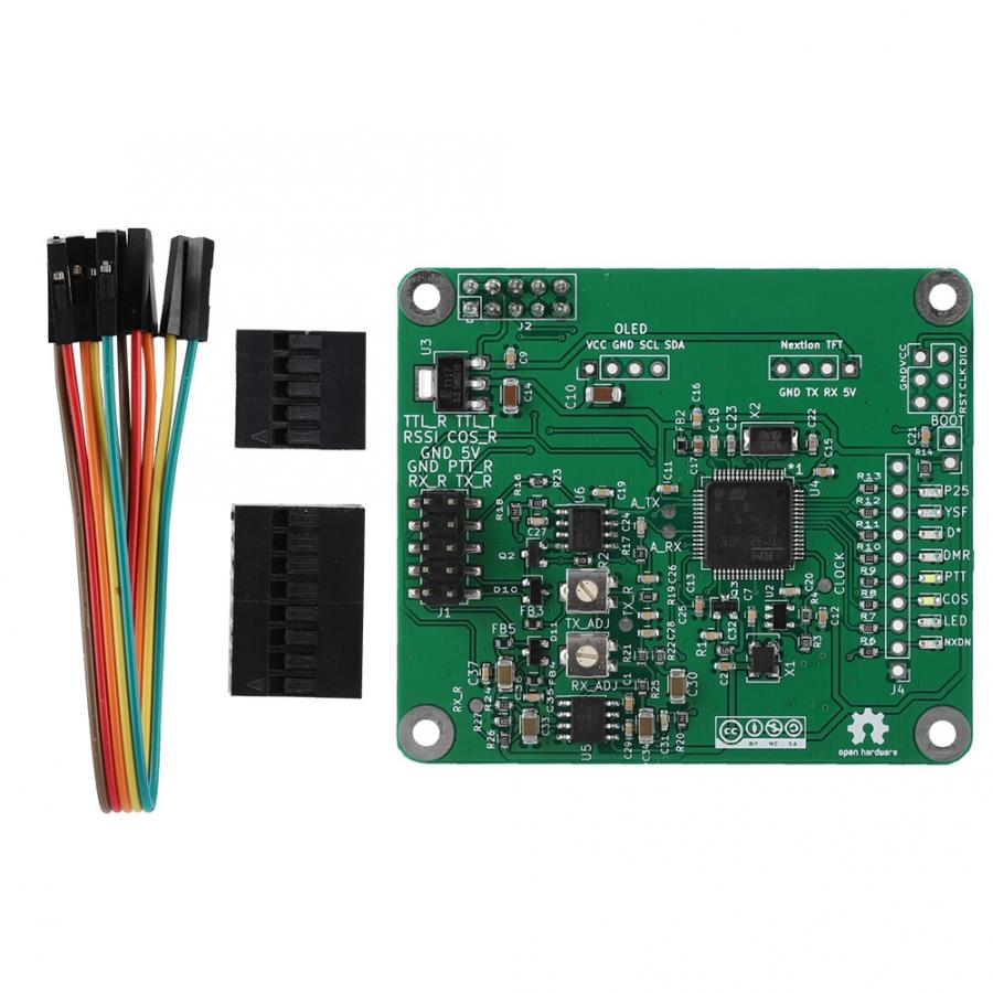 MMDVM DMR Repeater Open Source Multi Mode Digital Voice Modem Relay Board for Raspberry Pi with PCB Material(China)