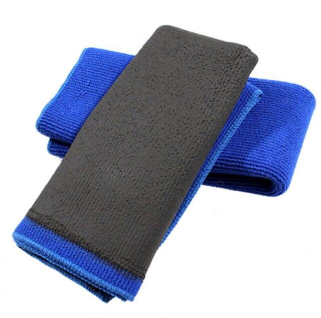 Serviette en argile polymère pour lavage de voiture, tissu dargile pour détail de voiture, mitaine en microfibre, nouvelle technologie, livraison gratuite